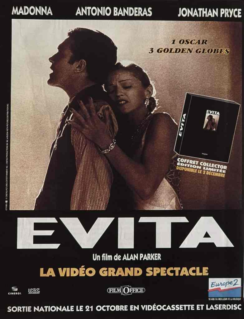 Evita-VHS-collector-videocassette