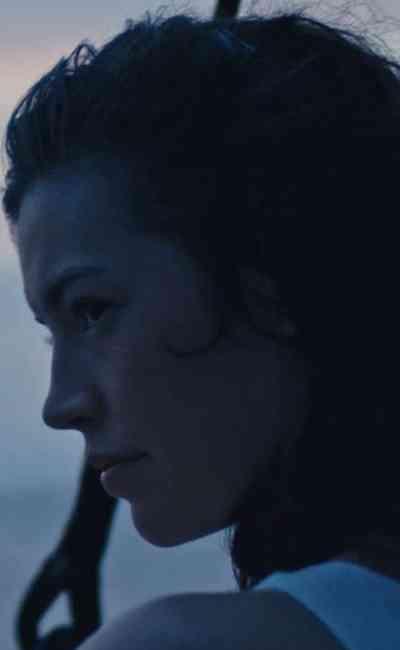 Dorcas Coppin, une barque dans l'océan