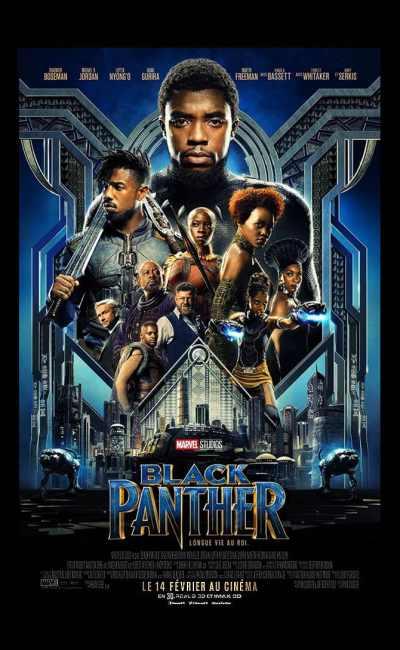 Affiche française de Black Panther