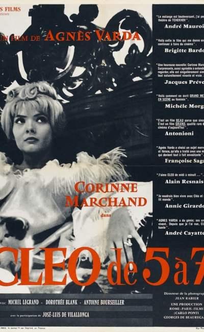 Affiche de Cléo de 5 à 7 d'Agnès Varda