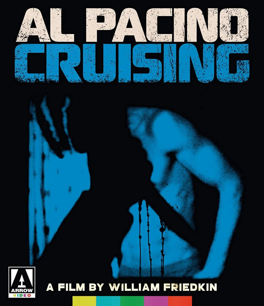 cover, jaquette de Cruising La chasse, blu-ray Arrow Films (2019)