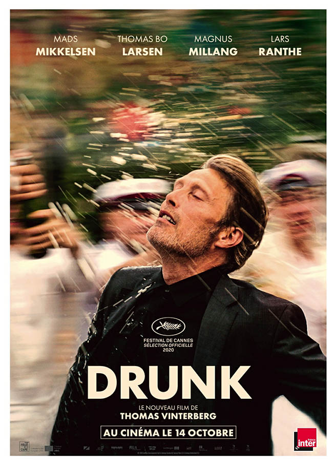 teaser poster de Drunk, de Thomas Vinterberg