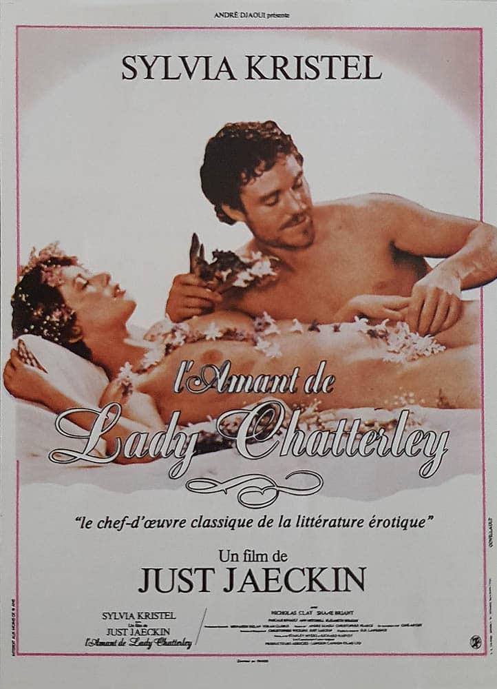 L'amant de Lady Chatterley, affiche du film de Just Jaeckin