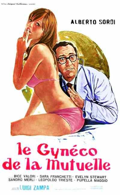 Le gynéco de la mutuelle, affiche cinéma
