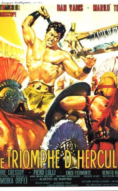 Le triomphe d'Hercule, l'affiche