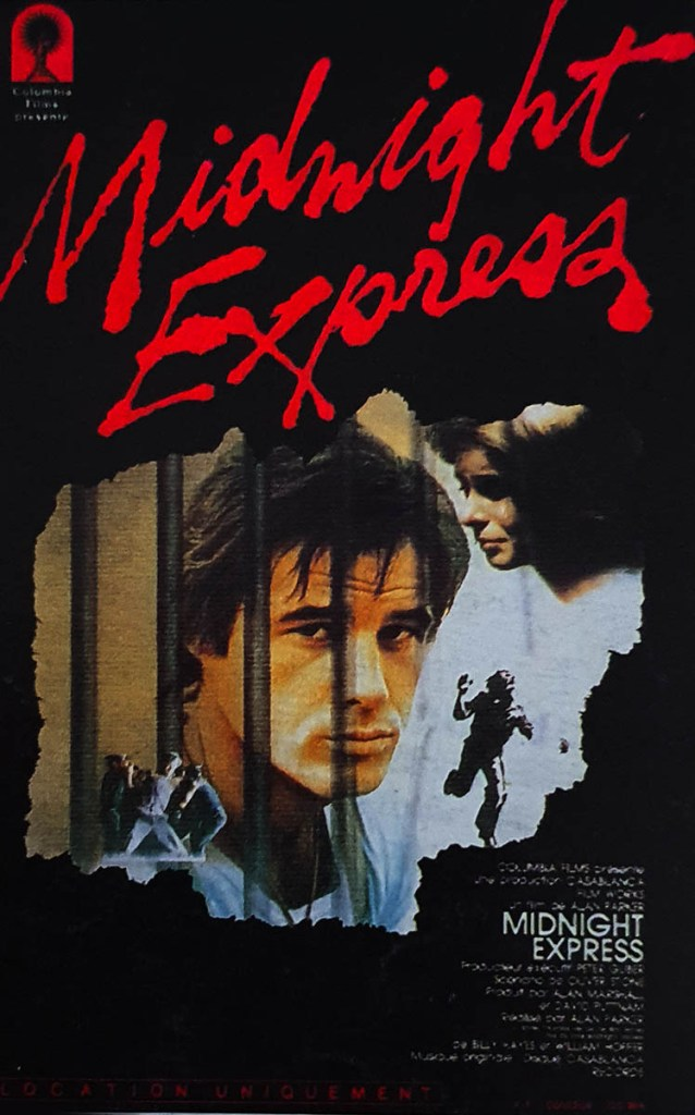 Cover, jaquette VHS Midnight Express