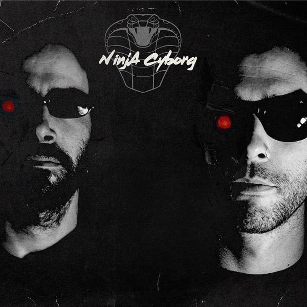 Martin Antiphon et Marc Botte, duo de NinjA Cyborg