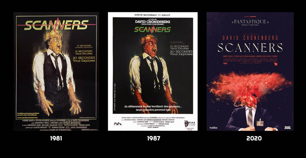 Scanners en 3 affiches