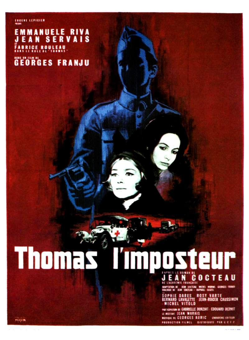 Thomas l'imposteur, l'affiche