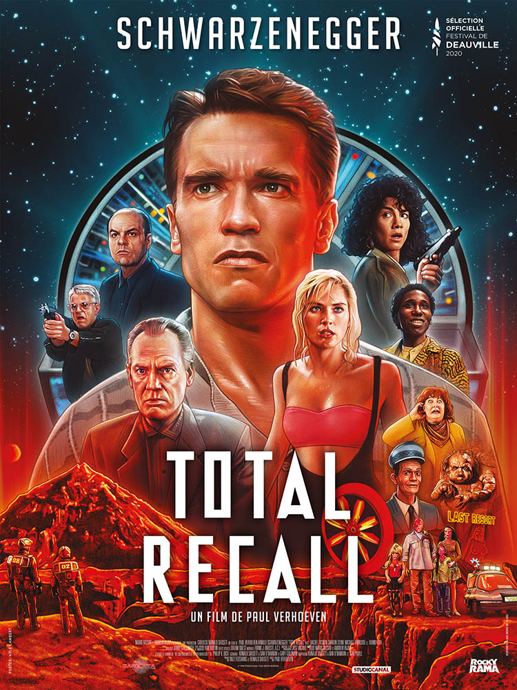 Total Recall, affiche reprise 2020