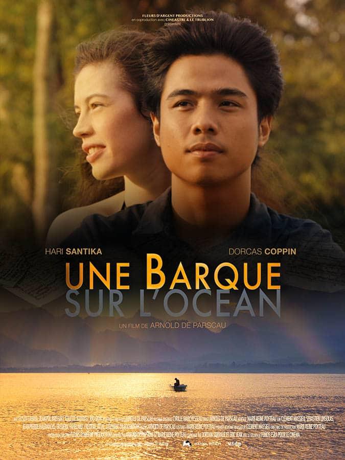 Une Barque dans l'océan, affiche du film