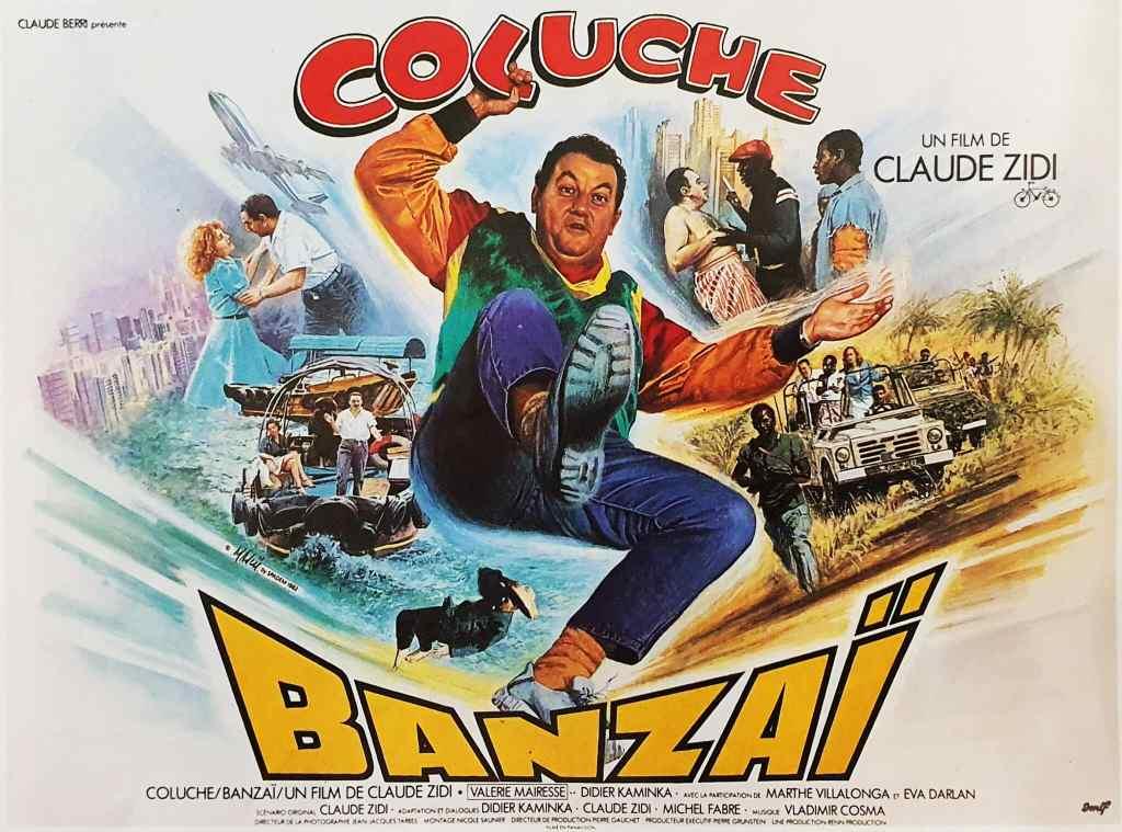 Affiche 4X3 de Banzai Mascii