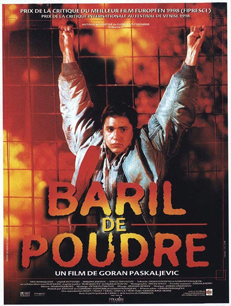 Affiche française de Baril de poudre