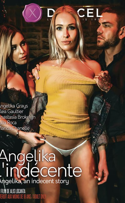 Angélika l'indécente, cover DVD Marc Dorcel