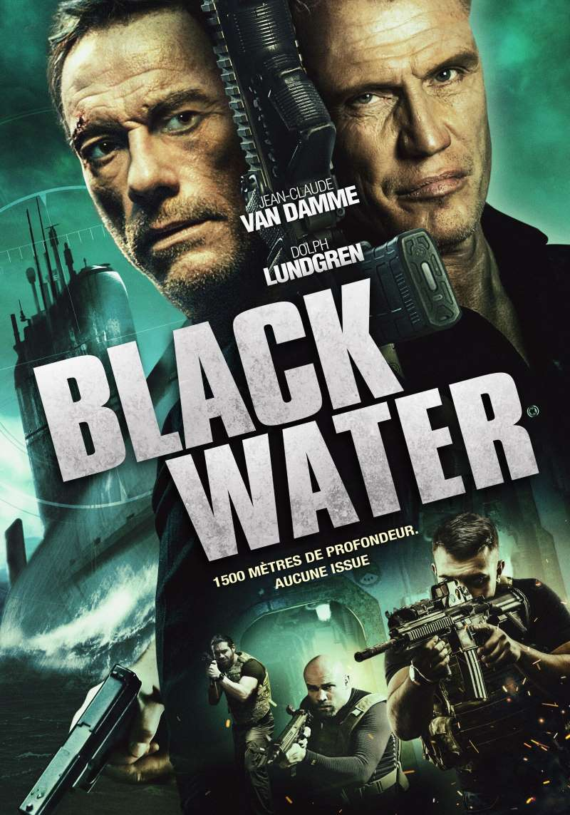 Black water, jaquette
