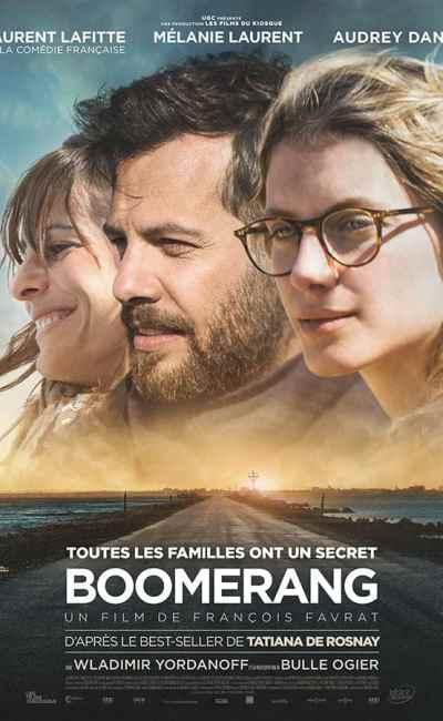 Boomerang : affiche du film de François Favrat
