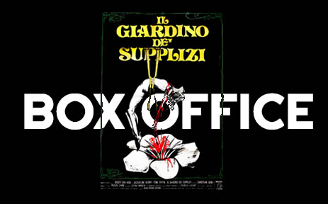 Le jardin des supplices au box-office (Christian Gion)