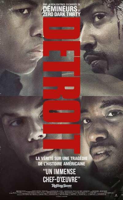 Detroit affiche du film de Kathryn Bigelow