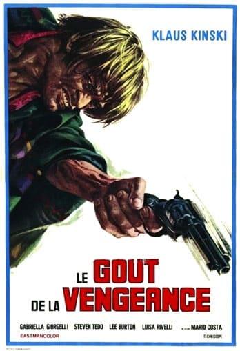 Affiche du film Le Goût de la vengeance