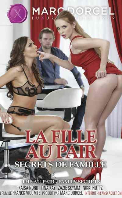 La fille au pair, secrets de famille, cover DVD du film de Franck Vicomte