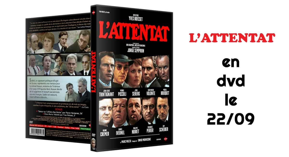 L'attentat d'Yves Boisset sort en DVD