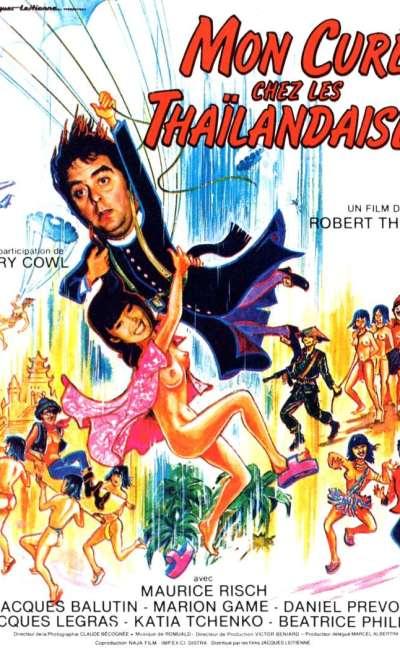 Mon curé chez les Thaïlandaises, l'affiche