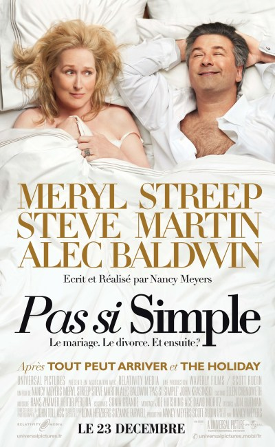 Pas si simple, affiche du film de Nancy Meyers