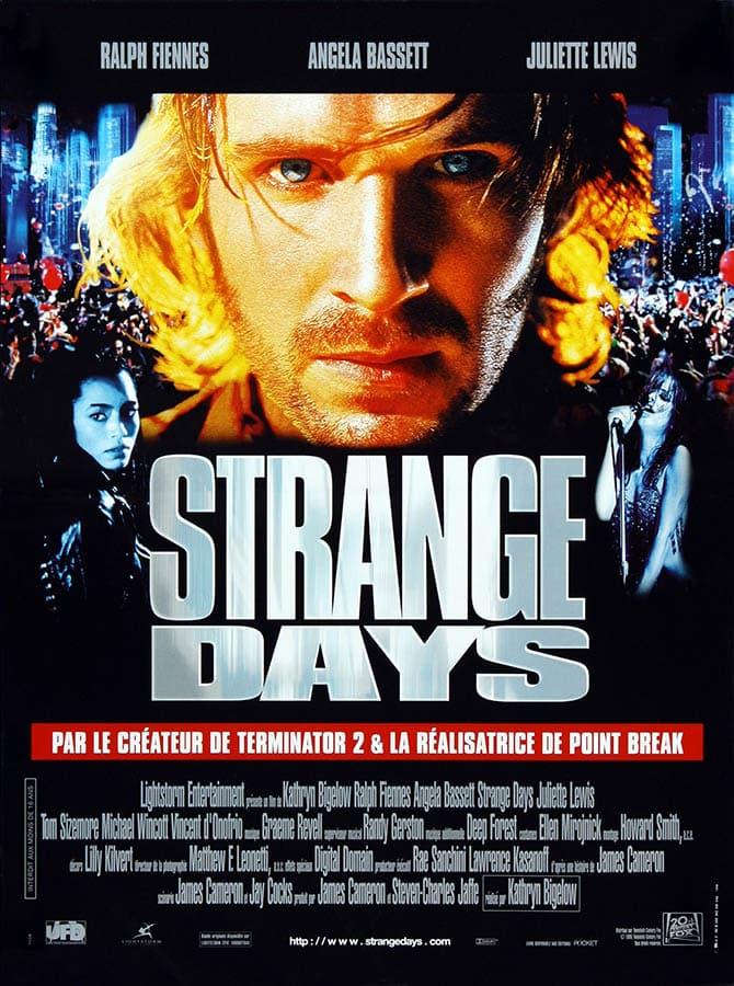 Strange Days, affiche du film