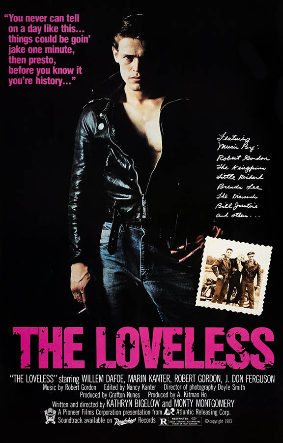 The Loveless affiche du film de Kathryn Bigelow