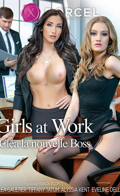 Girls at work : Cléa la nouvelle boss, jaquette VOD, DVD