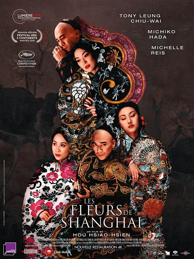 Les Fleurs de Shanghai, affiche reprise 2020