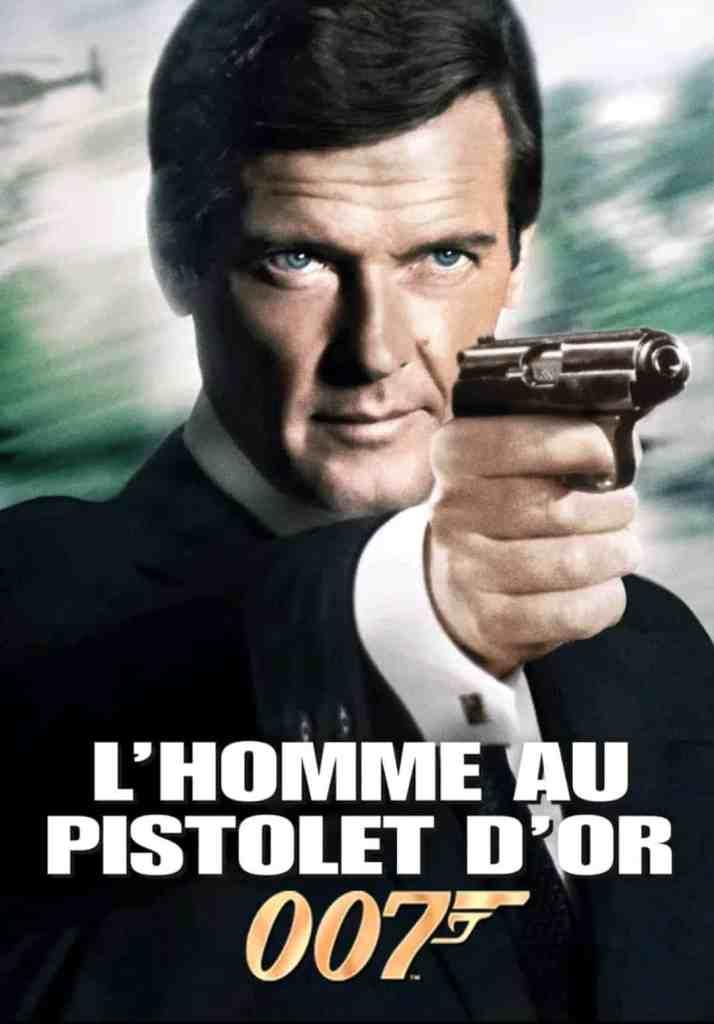 L'homme au pistolet d'or, James Bond 9, cover VOD