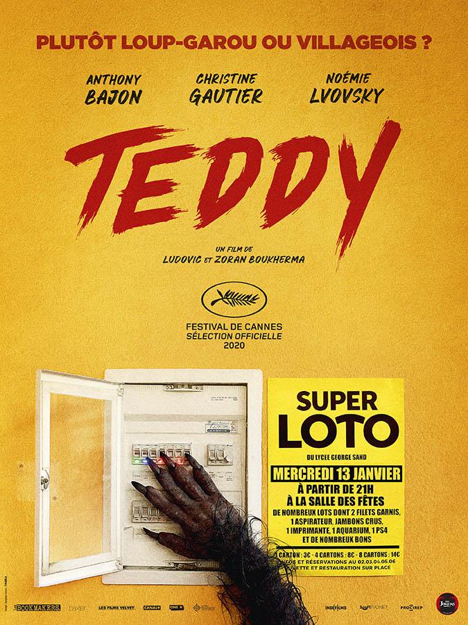 Teddy, le loup garou français (affiche teaser)