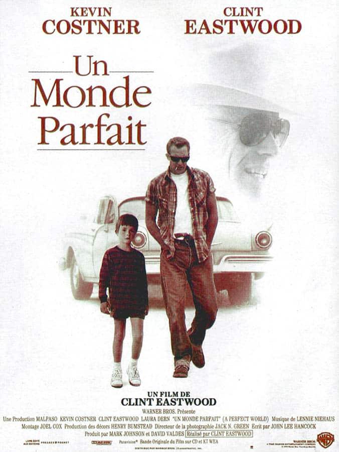 Affiche cinéma d'Un monde parfait de Clint Eastwood (1993)