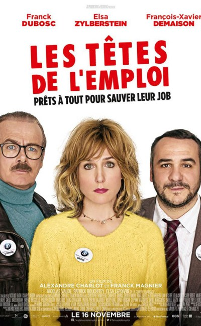 Les têtes de l'emploi : affiche du film