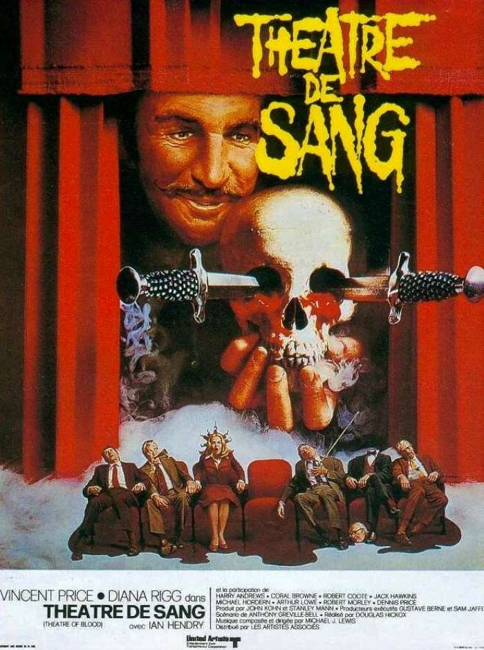 Théâtre de sang, l'affiche
