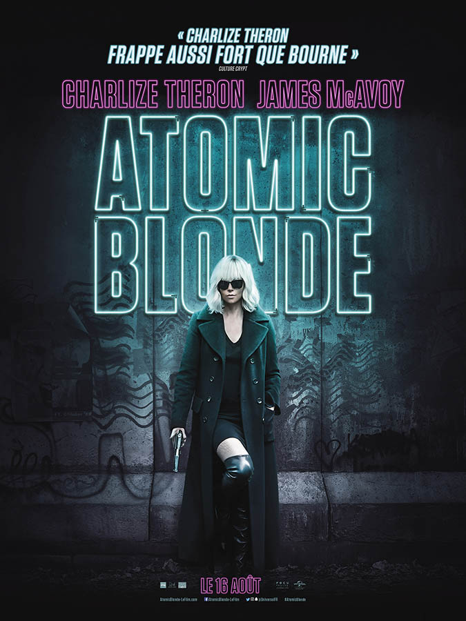 Atomic Blonde, affiche française
