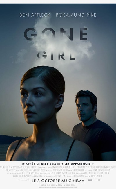 Gone Girl de David Fincher, affiche française