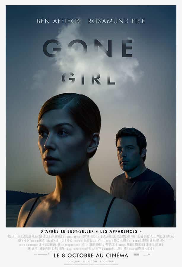 Gone Girl de David Fincher, affiche française