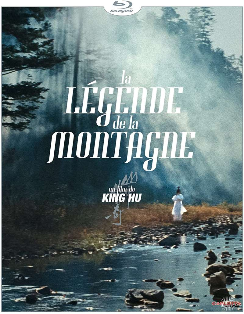 La légende de la montagne, la jaquette blu-ray