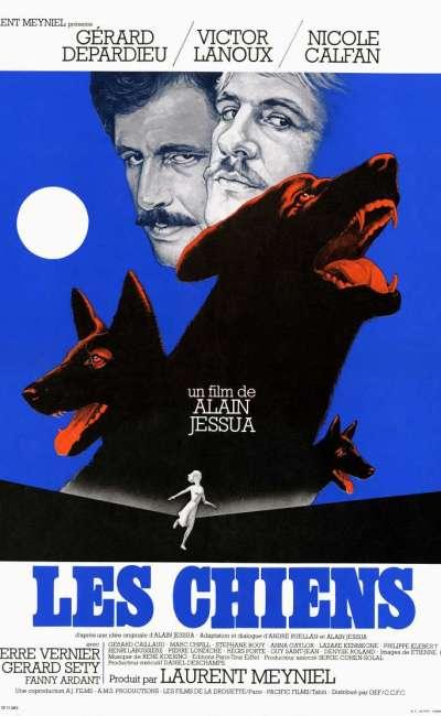 Les chiens, l'affiche