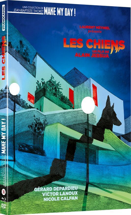 Les Chiens, d'Alain Jessua (combo DVD & blu-ray 2021)