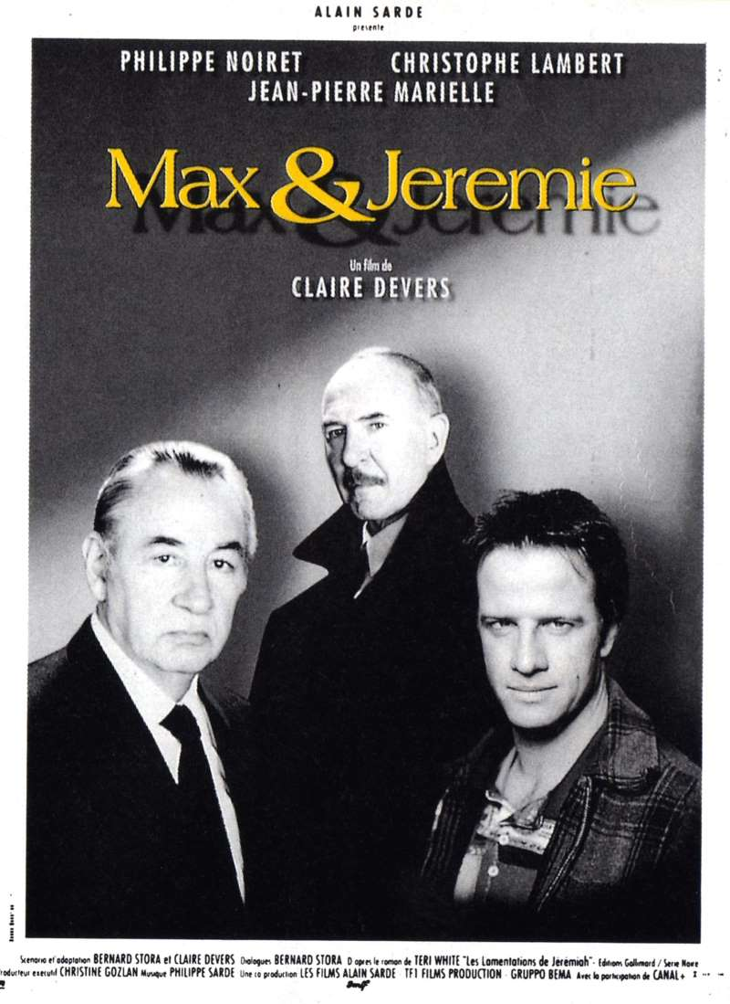 Max et Jérémie, l'affiche
