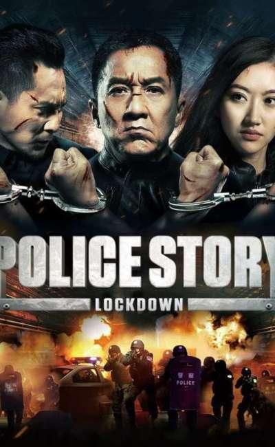 Police story lockdown, la jaquette VOD