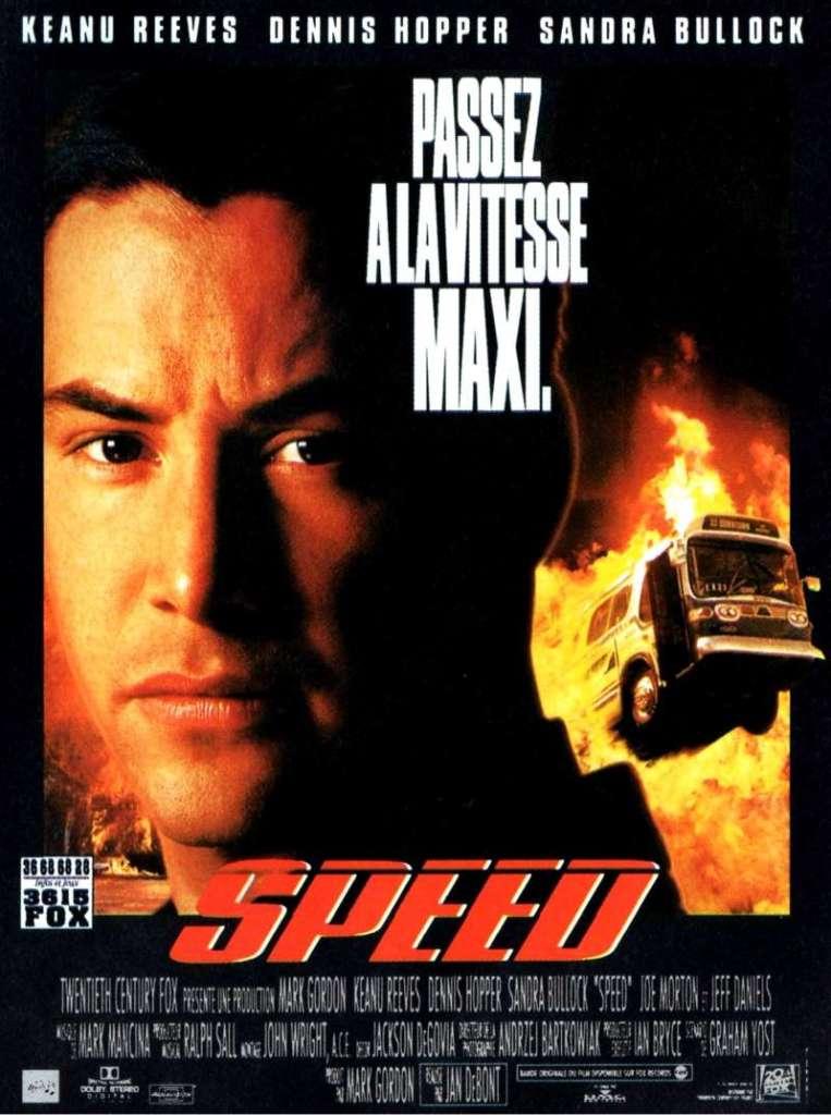 Speed, l'affiche