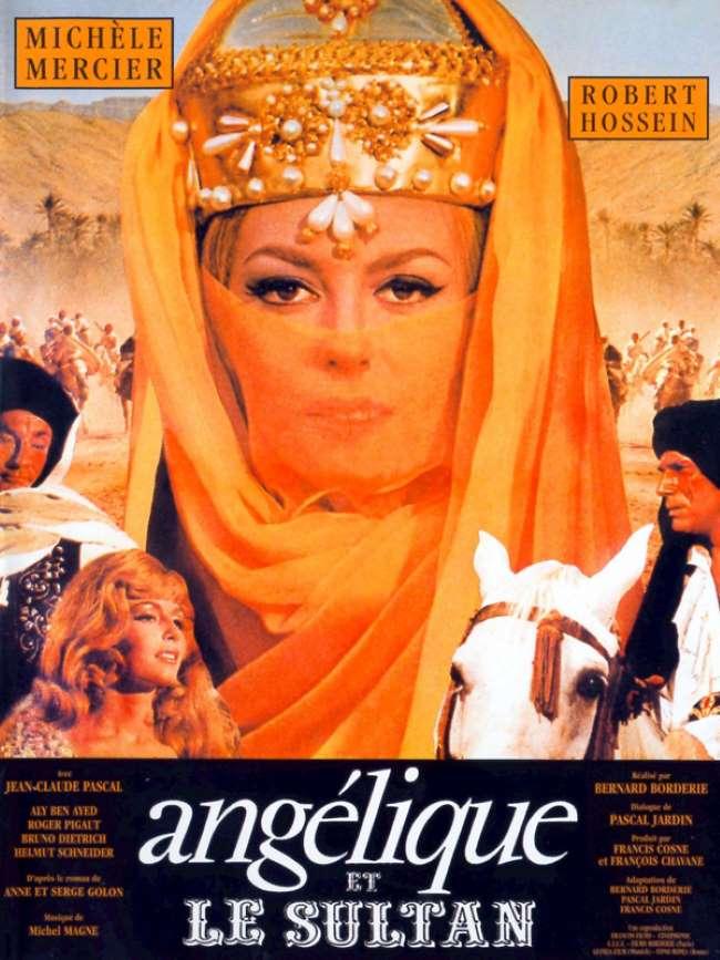 Angélique et le sultan, l'affiche