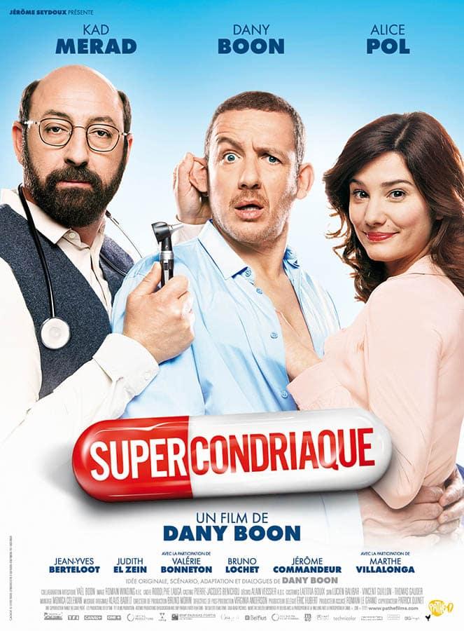 Supercondriaque, affiche du film