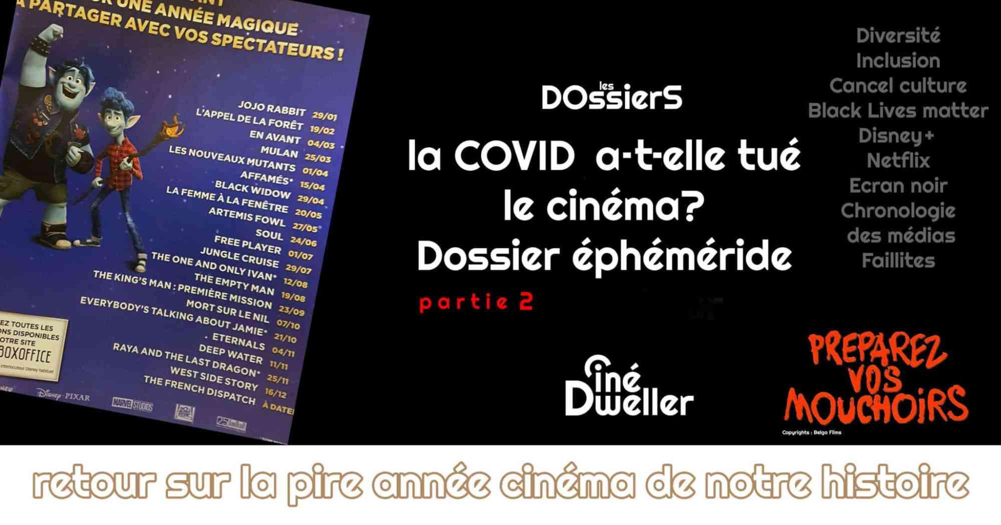 Bilan cinéma 2020 sur Cinédweller