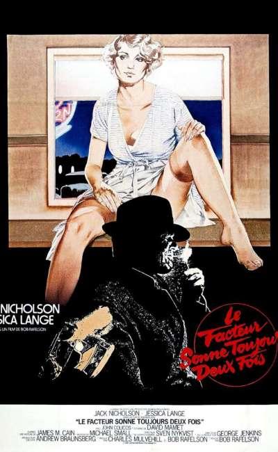 Le facteur sonne toujours deux fois, l'affiche du film de 1981