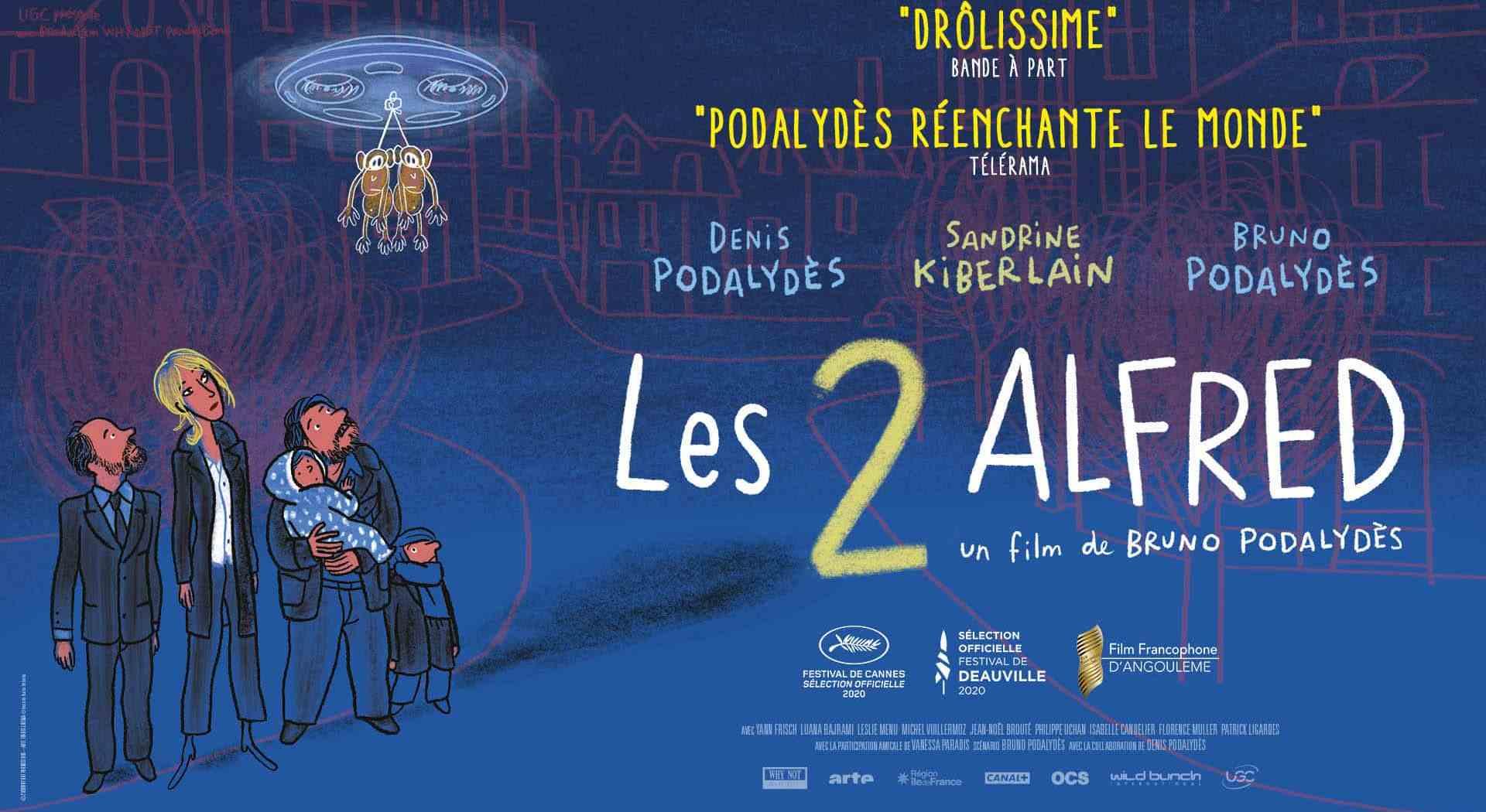 Bande-annonce de Les 2 Alfred de Bruno Podalydès